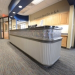 Reception Desk for Dental Office