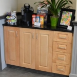 Storage Cabinet in Reception Area