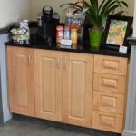 Storage Cabinet in Reception Area