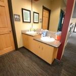 Brush/Vanity in Dental Office