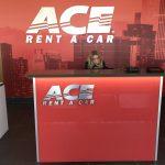 Interior Signage for Car Rental Locations