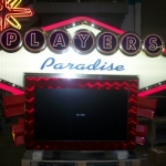 Interior Casino Sign
