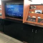 Custom Credenza for Auto Dealership