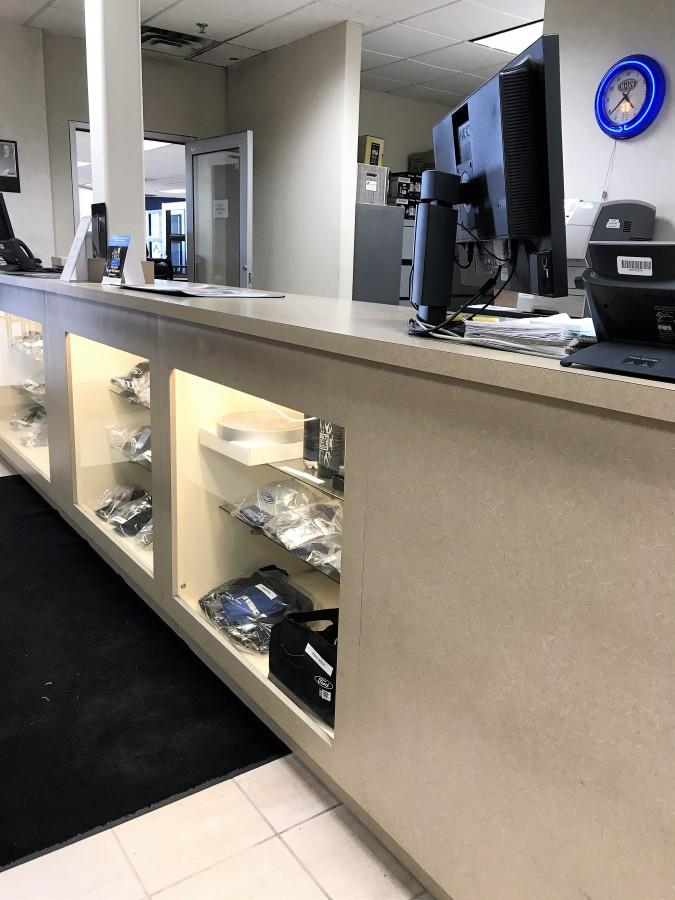 Automotive Dealership Cabinets Creative Surfaces Inc
