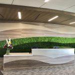 Custom Commercial Reception Desk