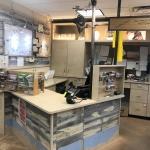 Custom Commercial Point of Sale Desk