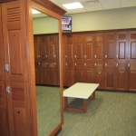 Fitness Center Lockers - Custom Commercial Cabinetry