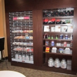 Commercial Cabinetry - 2 Sided Lockable Shelf Display