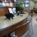 Customer Desk at Bank