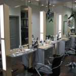 Salon Hair Stylist Stations