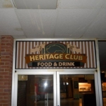 Heritage Club Sign