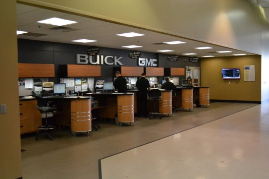 Service Writer Desk ~ Automotive cabinetry fixtures billion gmc