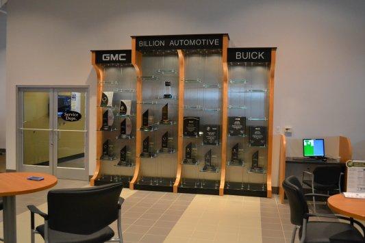 Automotive cabinetry fixtures billion gmc for Billion motors sioux falls