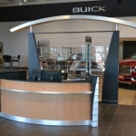 Custom Cabinetry for car dealership