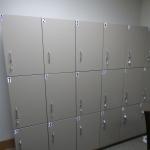 Breakroom Lockers for Dental Clinic