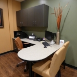 Office Desk and Cabinets