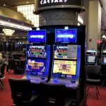Curved Video Panel Game Sign