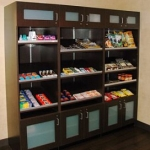 Reception Retail Cabinets