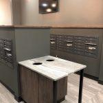 Mailbox Surround Cabinetry
