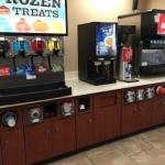 Convenience Store Beverage Station