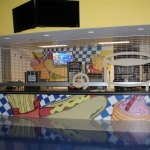 Vinyl Graphic Wrap for Hot Dog Concession Stand