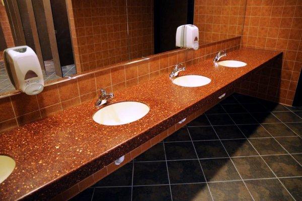of and countertops solid simple commercial tabletops decoration surface bathroom design