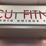 Fitness Center  Interior Logo Signage