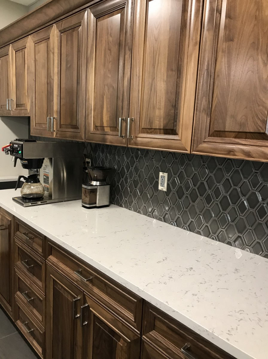 Custom Law Firm Cabinets Sioux Falls Sd Creative Surfaces