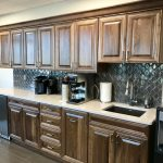 Coffee Bar Cabinets for Law Firm
