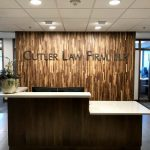 Reception Desk for Law Firm