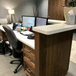 Reception Desk for Cutler Law
