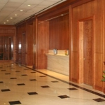 Custom Millwork for Bank