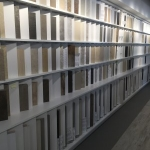 Custom Slotted Library Wall