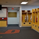 College Locker Room AV Cabinetry