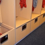 Locker Room Open Lockers