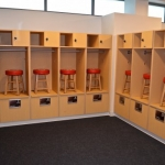 Lockers for Athletic Department