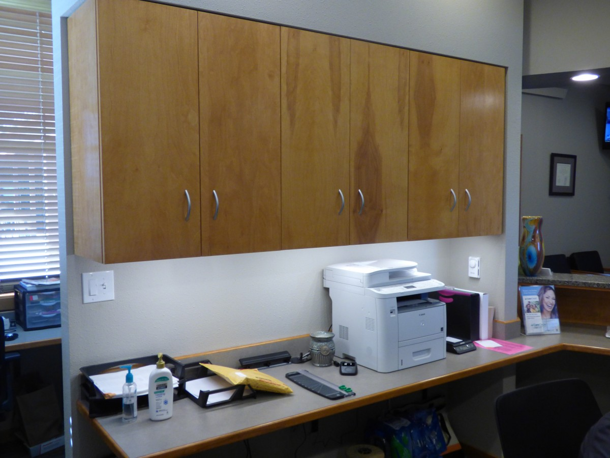 Custom Dental Clinic Cabinets Creative Surfaces Sioux Falls