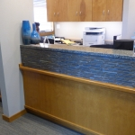 Dental Clinic Reception Desk