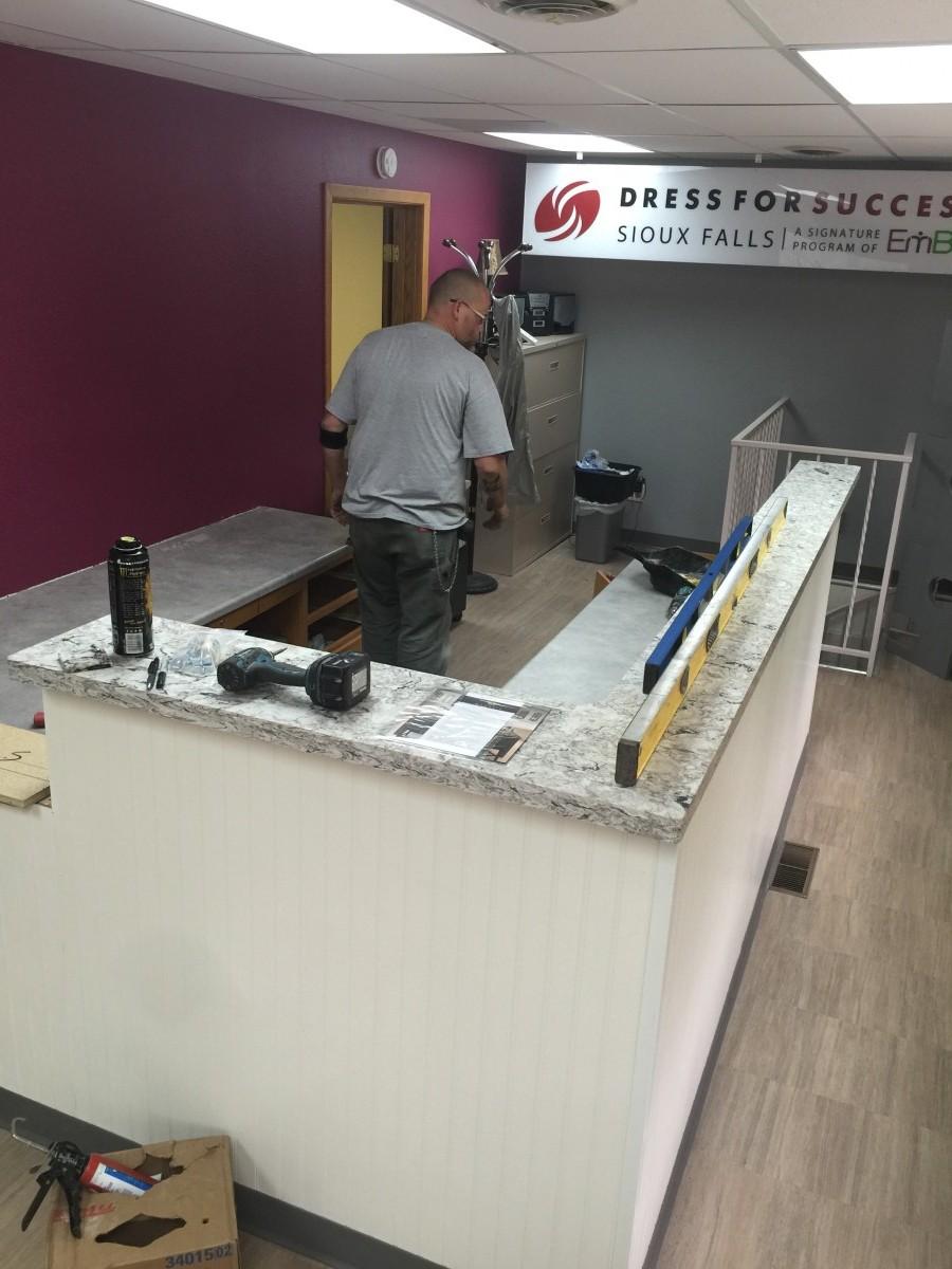 Commercial Countertops   Installation