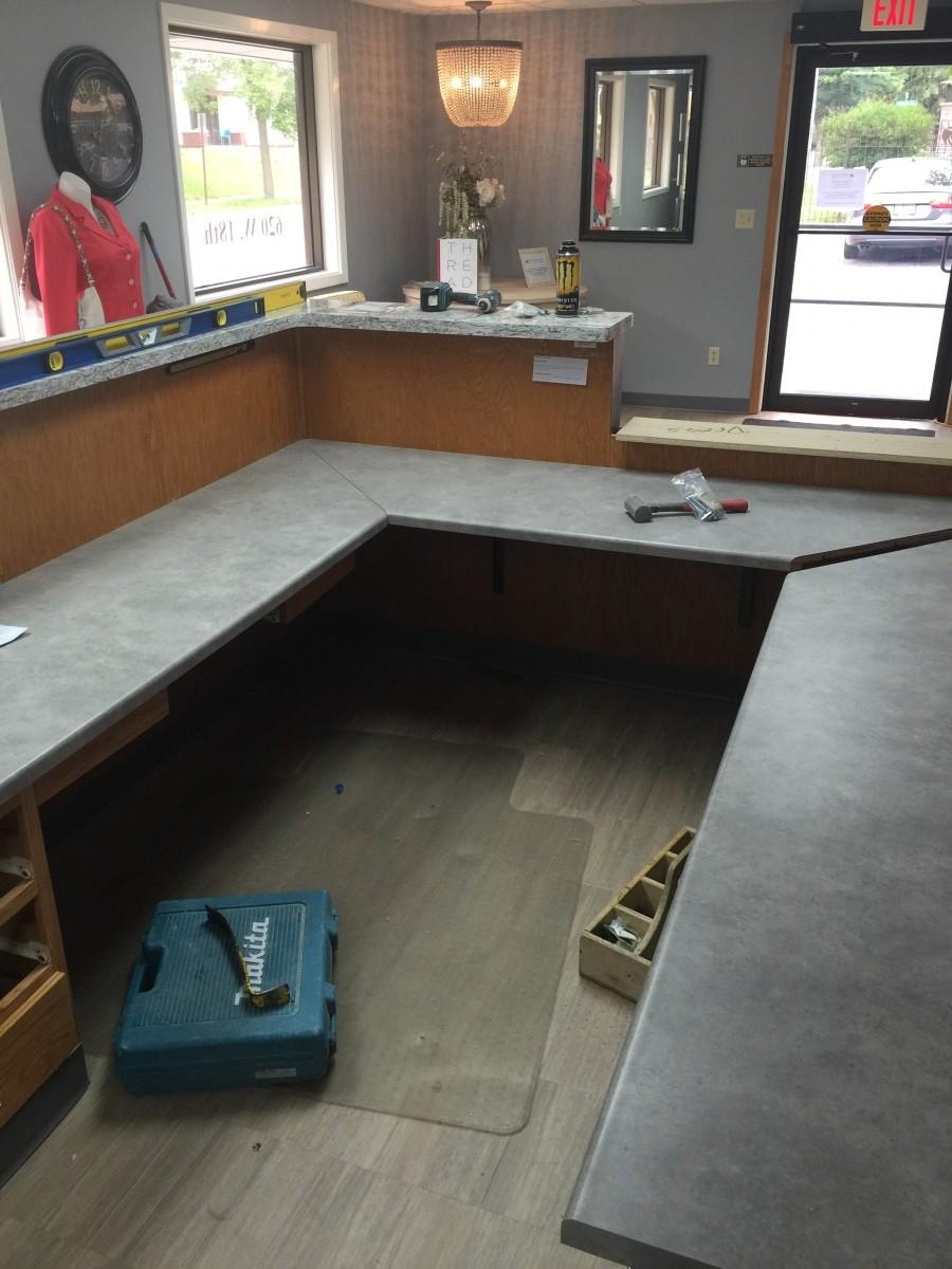 Plastic Laminate Countertops   Installation. Plastic Laminate Countertops    Installation