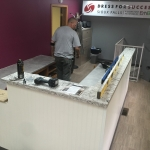 Commercial Countertops - installation