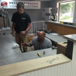 Quality Commercial Countertops - installation