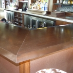 Solid Mahogany Bar Countertops