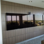 Plastic Laminate Commercial Media Wall