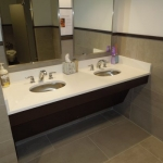 Commercial Vanity and Countertop