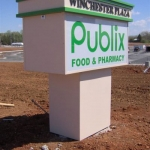 Exterior Pylon Sign