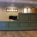 Reception Desk for Banks