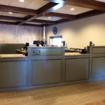 Custom Teller Line for Banks