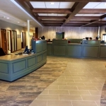 High End Bank Cabinetry