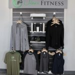 Merchandise Display Area for Urban Fitness